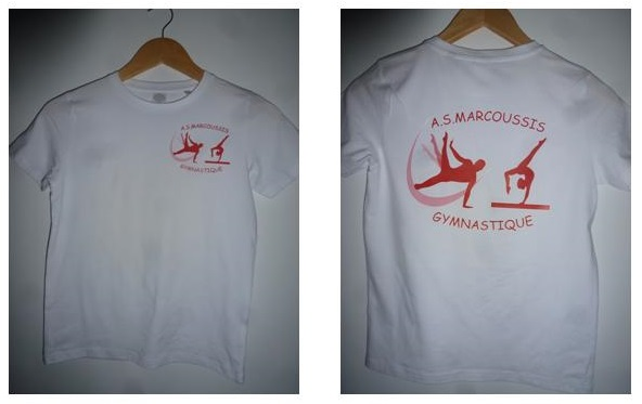 tee shirt AS marcoussis Gym