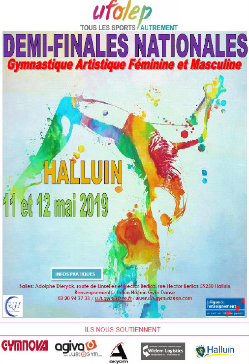 demi finale Halluin as Marcoussis gym