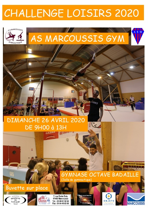 challenge gymnastique as marcoussis 2020