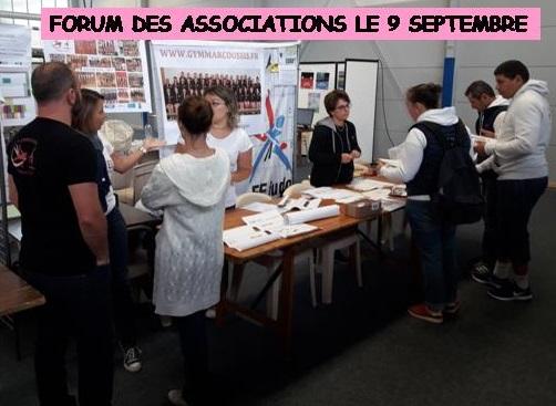 forum associations marcoussis asm gym